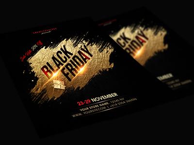 Black friday discounts christmas offer festive offer cyber monday golden flyer black friday sale black friday