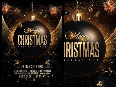 Christmas Flyer classy xmas party golden christmas new year christmas celebrations christmas party christmas cards christmas flyer merry christmas christmas