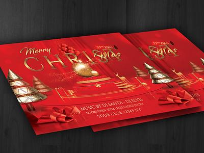Christmas Flyer poster merry christmas christmas card christmas design red christmas christmas party flyer christmas party christmas flyer christmas