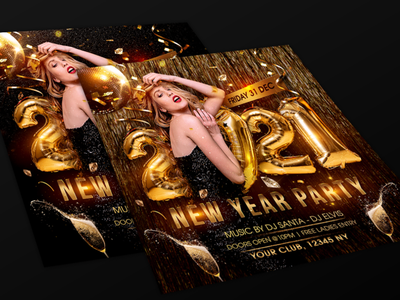 New Year Party Flyer nye2021 new year template new year celebrations new year bash new year design happy new year 2021 happy new year new year party flyer new year party new year flyer new year