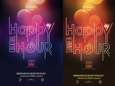 Happy Hour Party Designs Themes Templates And Downloadable