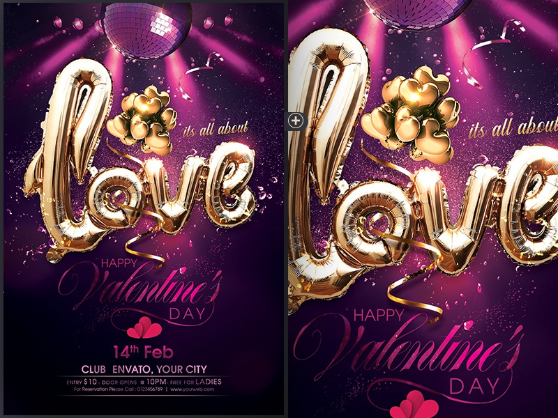 Valentines Day Flyer poster flyer eve happy valentines day love day saint valentines romance love valetine party valentines day flyer valentines day