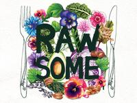 Rawsome Food Illustration