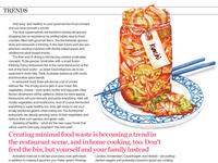 Editorial Watercolour Food Illustration Kimchi