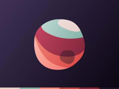 Earth-Toned Space Probe space death star planet earth tone earthy color palette palette