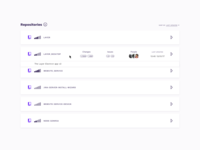Dev Tools App – hover state