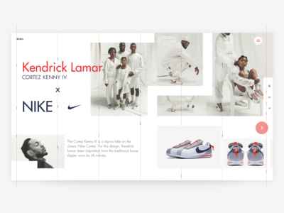 .kicks -  Kendrick Lamar x Nike Cortez