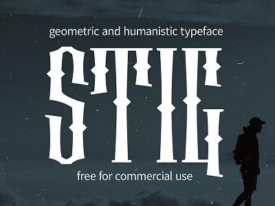 STIG Typeface free tattoo vyaz typogaphy new typeface type