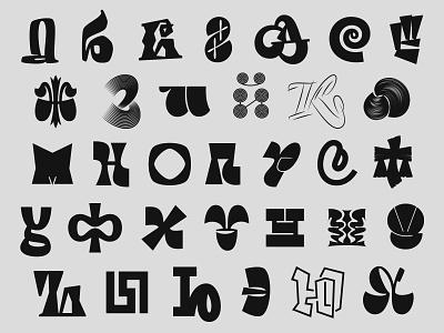 WeAreCyrillic logotypes cyrillic branding typography calligraphy lettering