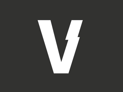Voltelligent logo v battery voltage volt logo identity design logos