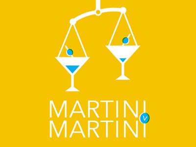 Martini scales reception law martini poster