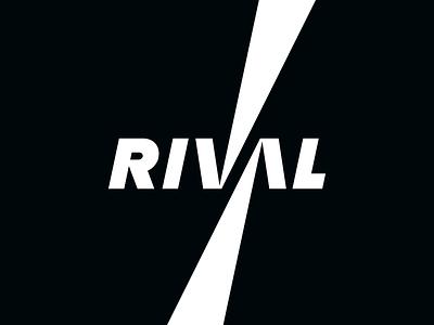 Rival - Wordmark Logo Design nemesis enemies rivalry brand identity brand identity design identity logotype tuning logodesign logo letters wordmark logo powder coating coating powder paint auto car rival wordmark