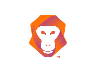 Wise Ape dynamic logo dynamic design icon mark artangent logo icon construction logo match mathematica geometric logo geometric logo designer logo design monkey logo ape monkey