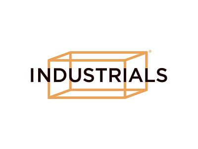 Industrials logo designer box warehouse storage industrial geometric icons simple minimal logotype illustrator graphic design clean flat branding vector logo illustration icon design