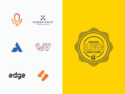 LogoLounge11 logo designer geometric icons simple minimal logotype illustrator graphic design clean flat branding vector logo illustration icon design logolounge book publication