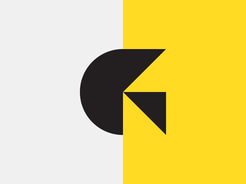 Geometric G logo design logo designer design icon illustration logo vector branding flat clean graphic design illustrator logotype minimal simple icons geometric lettermark monogram