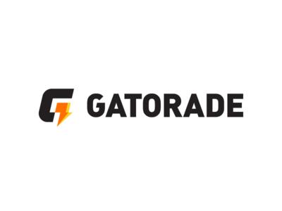 Gatorade geometric icons simple minimal logotype illustrator clean flat branding vector logo illustration icon design rebrand gatorade brand energy bolt thunder