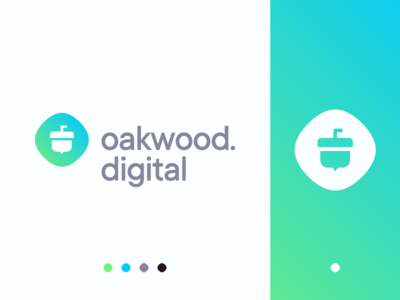 Oakwood.Digital Logo Design