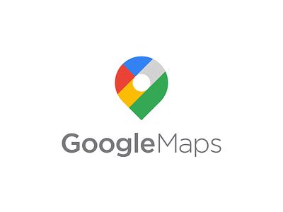 Google Maps - Logo Redesign Concept brand design branding roads search google maps app logo app icon app satelite logo mark logodesign brand identity design brand identity rebranding redesign pin map maps google logo