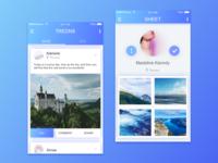 travel app design!