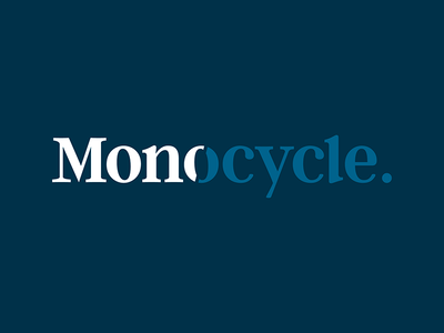 Monocycle - Unused Concept