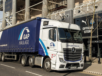 GAP Vehicle Livery branding brand design livery vehicle truck gap