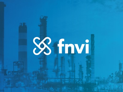 FNVI Logo Concept software oil and gas symbol identity brand branding logo