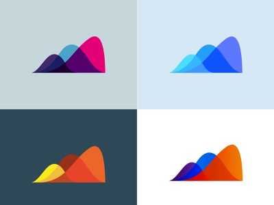 Colour Development - ScoreReport design brand branding logo gradient color palette overlay flowing gradient colours
