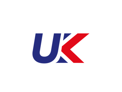UK Logo Concept meaning hidden graphic symbol icon brand logo design branding logo british united kingdom