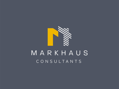 MarkHaus - Concept A freelance agency brand design practice architect logotype marque mark design logo brand project branding