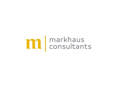 MarkHaus - Concept B markhaus markhaus vector identity typography brand design branding logo