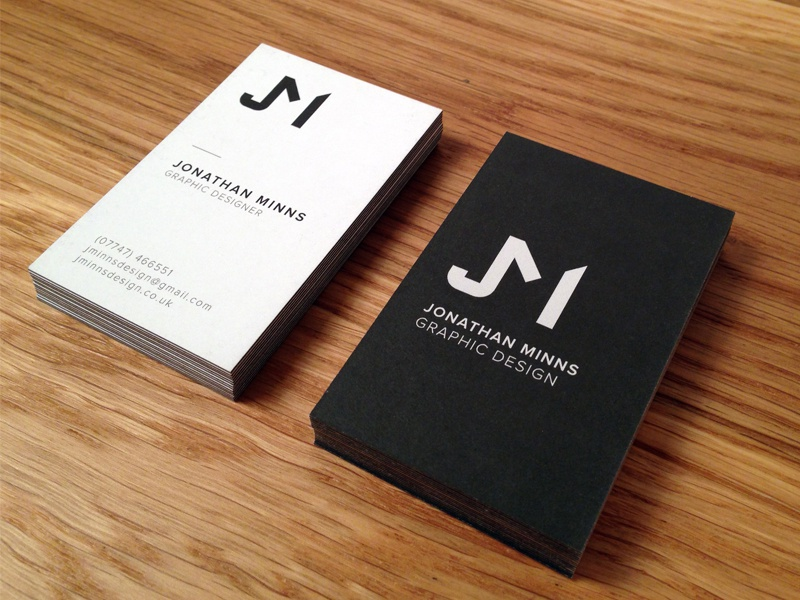 New Business Cards by Jonathan Minns - Dribbble