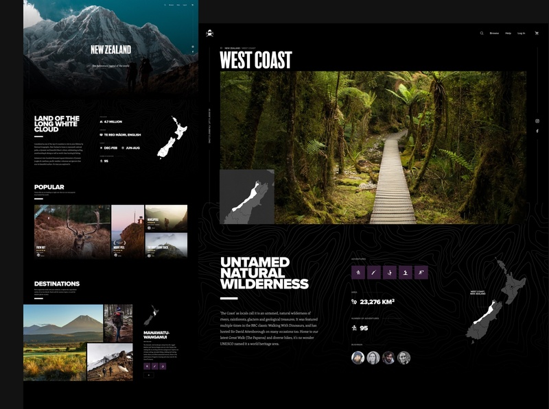 Bushman Tours – Browse wordpress ecommerce web app ux ui app