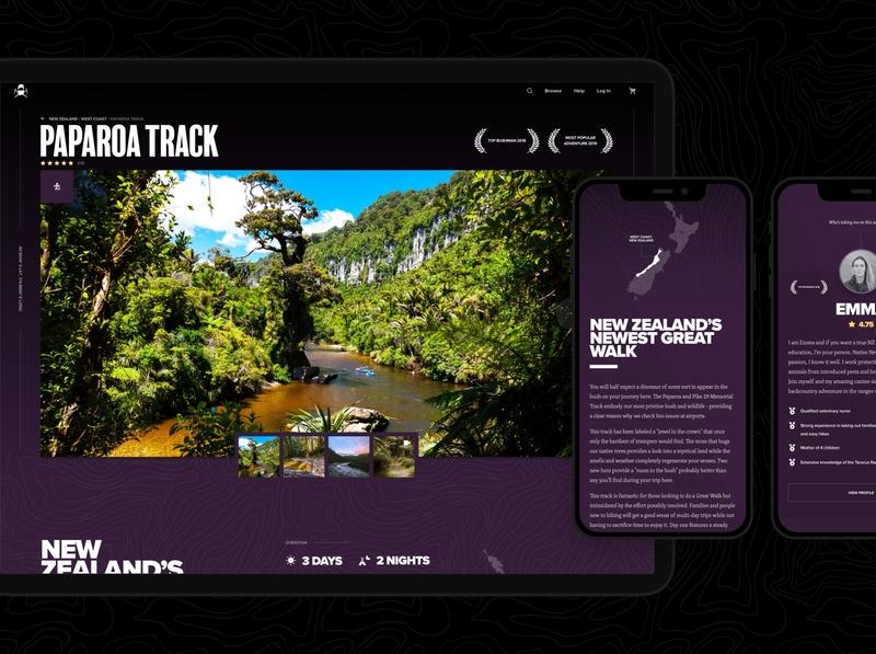 Bushman Tours - Adventure Single wordpress ecommerce web app ux ui app