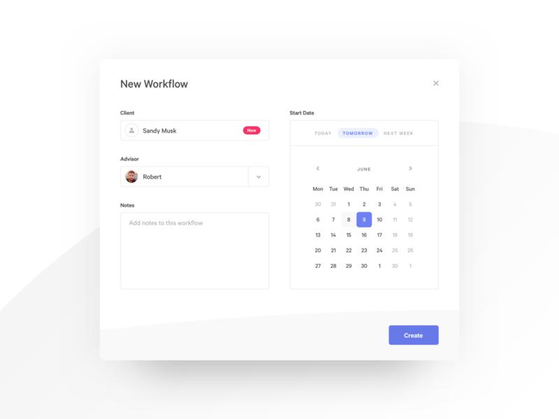 Edge Workflow Manager Web App UI workflow crm web app task manager project manager ux ui app