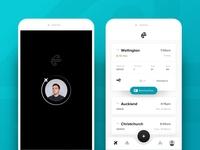 Air New Zealand App mobile ui mobile ux ui app