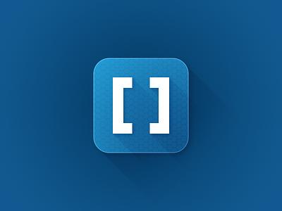 Not-so-flat rebound =) icon brackets blue rebound