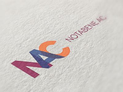 Notabene AC / Logo logo identity typography notabene webdevel