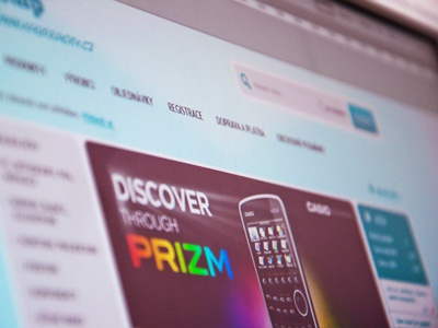 E-commerce website web ui design blue grey ecommerce