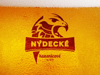 Nýdecké Kvasnicové / Logo logo beer yeast eagle knight alcohol