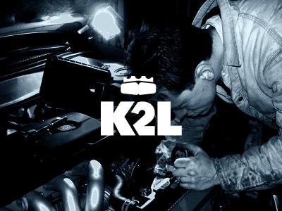 K2L / Brand Refresh branding logo simple crown webdevel