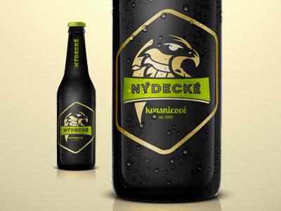Nýdecké Kvasnicové / Packaging logo alcohol beer branding bottle package