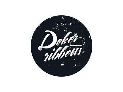 Dekor Ribbons / Logotype logotype florist accessories branding dekor-ribbons
