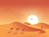 Illustration ( Desert )
