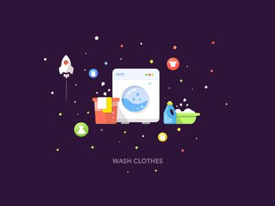 Wash Clothes