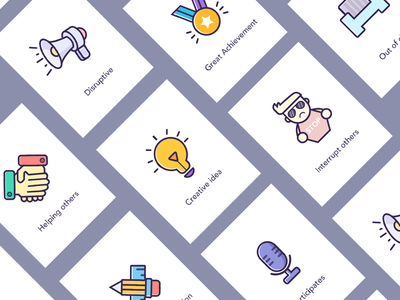 Lovely Icons design icons