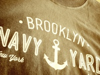 Brooklyn Navy Yard T-Shirt (Army Green)