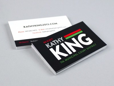 Kathy King Business Cards