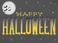 Halloween Hand-Lettering