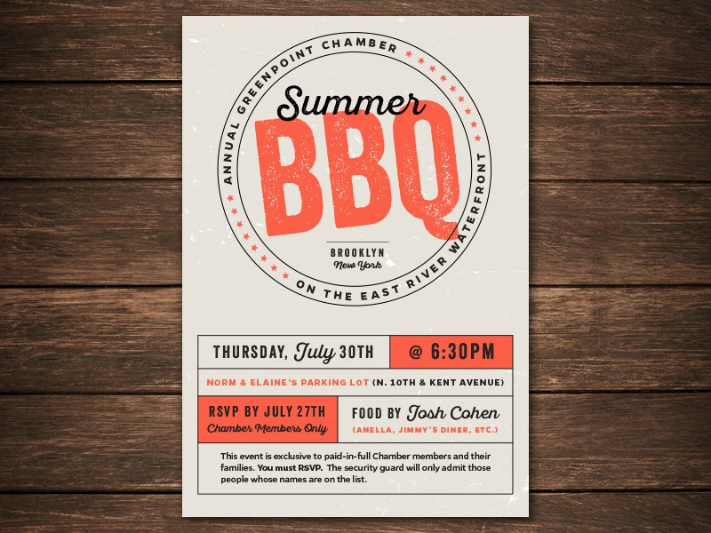 summer bbq invitation by mcmillianco  on dribbble